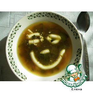 Рецепт: Суп огородников Ботвинник