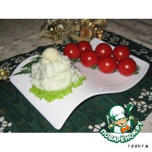 Рецепт: Пюре из цветной капусты