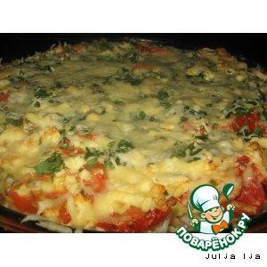 Рецепт: Картофельная пицца