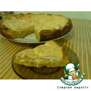 """Рецепт: Пирог  """"Нежный"""" с яблоками"""
