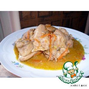 Рецепт: Свинина в пиве от Kарины