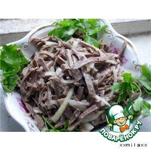 Рецепт: Сердечный салат