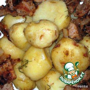 Рецепт: Картофель с фенхелем