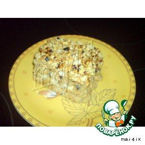 Рецепт: Торт из печенья на скорую руку