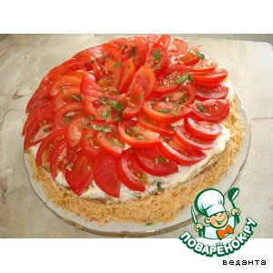 Рецепт: Кабачковый торт