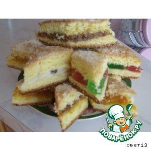 Рецепт: Сладкие пироги