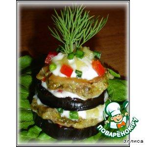 Рецепт: Овощные пирамидки