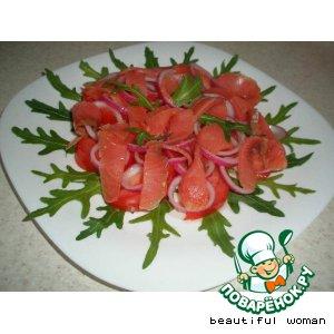Рецепт: Салат с форелью Для Иррез