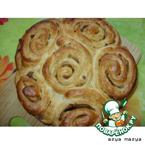 """Пирог """"Розы"""" – кулинарный рецепт"""