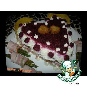 "Рецепт: Салат ""Валентинка"""