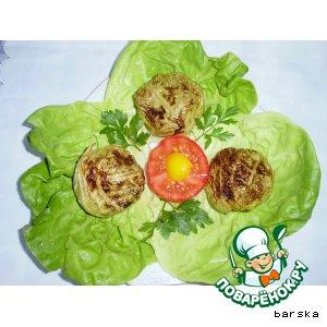 Рецепт: Маффины из савойской капусты