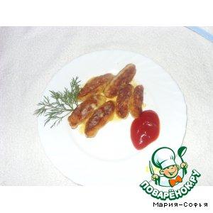Картофельные палочки с сыром – кулинарный рецепт