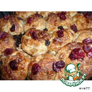 Рецепт: Пирог из сдобных шариков