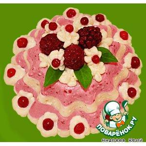 """Рецепт: Именной десерт """"Ягодка-Иринка"""""""