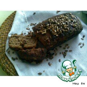 Рецепт: Ржаной хлеб с семечками
