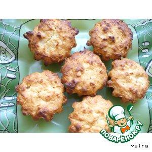 Рецепт: Медово-творожные кексы