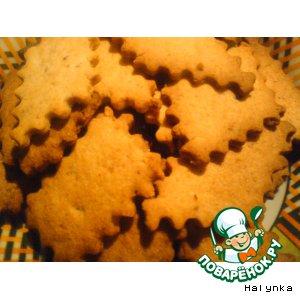 Печенье из шкварок