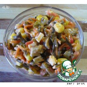 Рецепт: Закуска Морской бриз