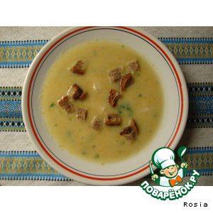 """Рецепт: Крем-суп """"Солнечный"""""""