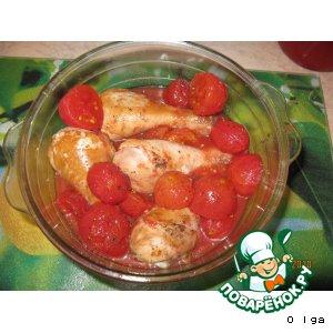 Рецепт: Курица кациаторе