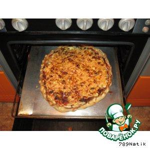Рецепт: Основа для пиццы