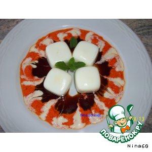 Рецепт: Квадратные яйца на завтрак