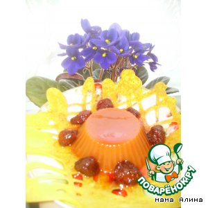 Рецепт: Десерт  для маленьких сладкоежек