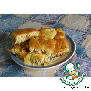 Рецепт: Грибной пирог