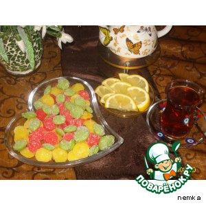 Разноцветные конфетки