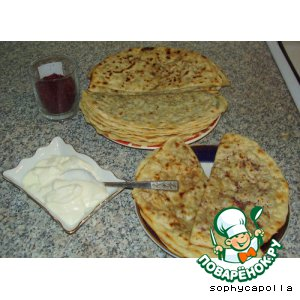 Рецепт: Кутабы