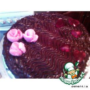 Торт Вишневая мелодия