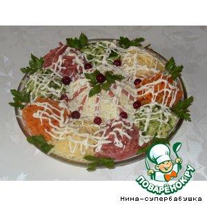 """Рецепт: Салат """"Флорентиец"""""""