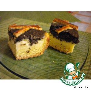 Рецепт: Mohn-Quarkkuchen - Маково-творожный пирог