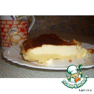 Рецепт: Пирог творожный ЛАКОМКА