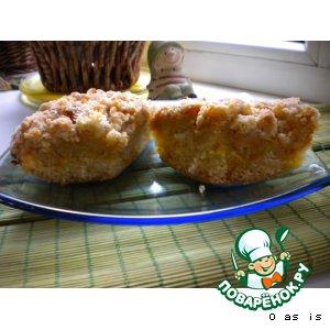 """Рецепт: Пирог с тыквой """"Солнечный"""""""