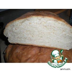 Рецепт: Хлеб на сливках