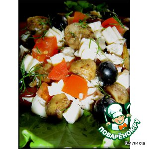 Рецепт: Салат Светик-семицветик