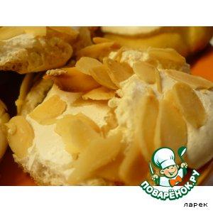 Рецепт: Печенье Миндальные лепестки