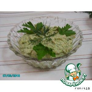 Рецепт: Паштет из зелeной фасоли