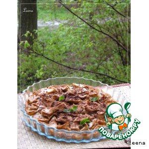 Рецепт: Яблочная пицца