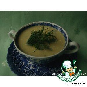 Рецепт: Суп-крем из картофеля и порея