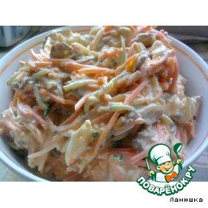 Рецепт: Салат Кореянка