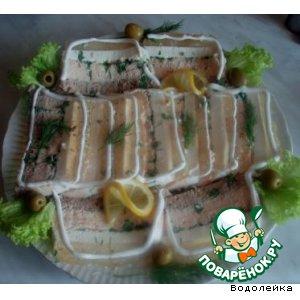 Рецепт: Заливной паштет