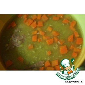 Рецепт: Гороховый суп в мультиварке