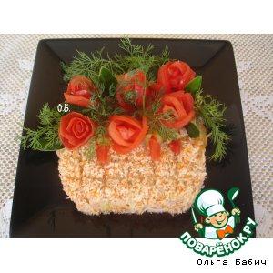 Рецепт: Салат Для вас