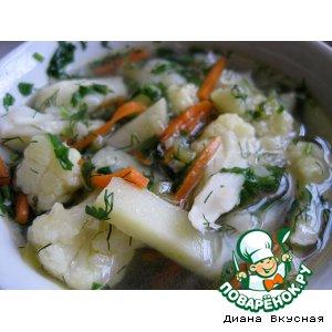 Рецепт: Суп из цветной капусты