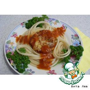 Рецепт: Рыбные котлеты из сардин в томате