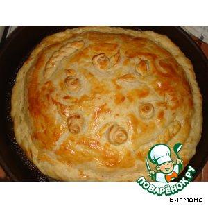 Рецепт: Капустный пирог от Маруси