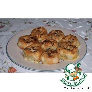 Рецепт: Розы-пирожки