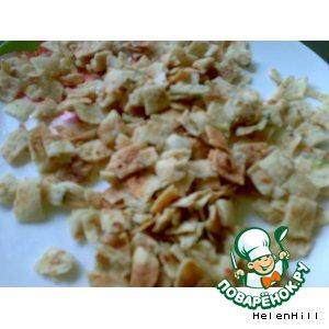 Рецепт: Сухари из лаваша